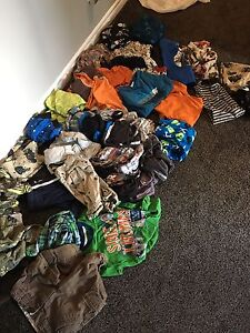 About 30 items of boys clothes size 6-10