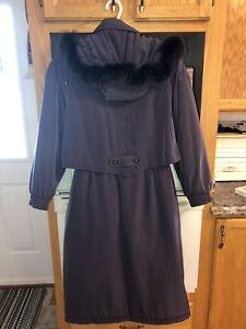 Women's Light Mauve Winter Coat