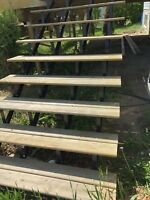 Deck stairs