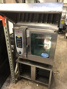 RATIONAL COMBI OVEN WITH VENTLESS HOOD SYSTEM (electric)