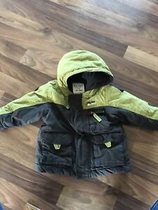 Boys 6-12 winter coat