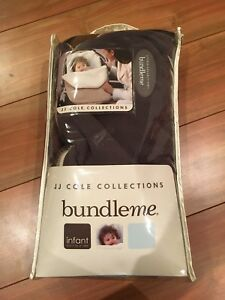 Bundle me JJ Cole Collections baby car seat winter cover