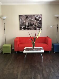 Ikea love seat/ Couch