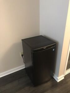 Danny Black Mini Fridge $50
