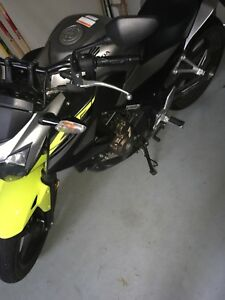 Hardly used Honda cb300f! Low km!