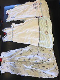 Grobag sleeping bags x 3