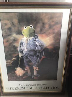 KERMITAGE COLLECTION MUPPETS MISS PIGGY'S ART TREASURES GREEN BOY  Gosnells Gosnells Area Preview