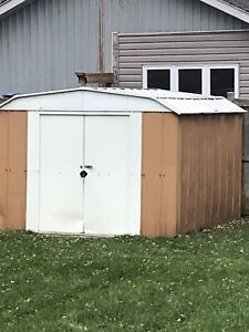 Metal shed 10x9 (probably)