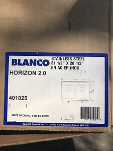 Blanco stainless steel kitchens sink 3 hole
