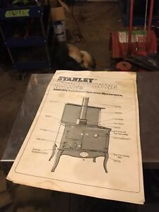 cast iron cook wood stove