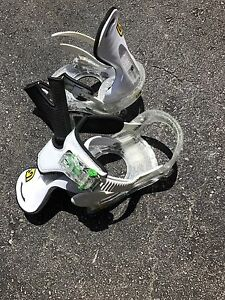 Children's snowboard bindings