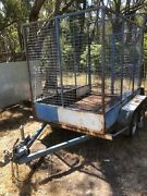 Tandem trailer stock trailer Melbourne Region Preview