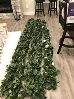 Wedding decor, faux greenery, bouquets, topiary balls