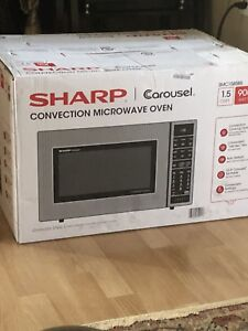 Convection Microwave Oven - Sharp SMC 1585BS