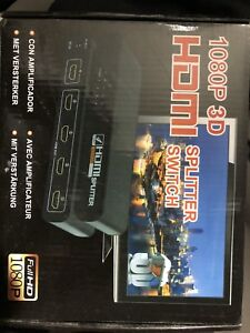 HDMI splitter with remote