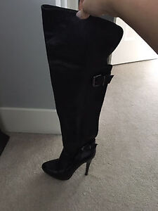 Aldo woman's Leather boots size 6 - over the knee