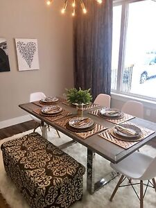 Absolutely Stunning Contemporary Dining Room Table