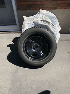 Blizzak tires barely used