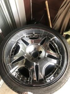 24 inch dub rims for sale