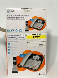 2 -line corded/cordless answering system