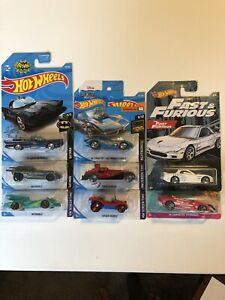 2019 Hot Wheels Movie Themed Collection