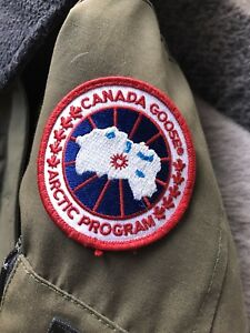 Authentic Canada Goose Montebello Parka 2XS - Military Green