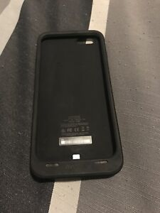 iPhone 6 mophie 2400 mah portable cellphone case charger