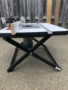 Bosch Router and Benchtop Router Table
