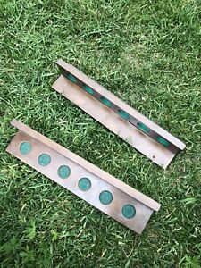 Wooden Pool cue holders for wall
