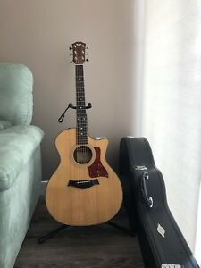 Taylor 314ce with hard shell case