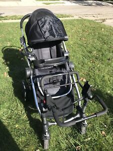 City Select Baby Jogger W/Seat, Glider Board & Car Seat Adapter