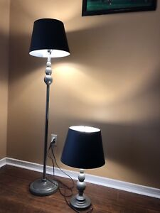 Standing lamp and table lamp