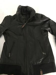 Rudsak leather jacket size xs