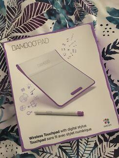 Bamboo pad wireless