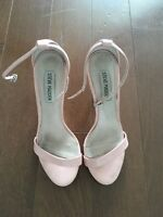 Light pink Steve Madden Strappy Heels