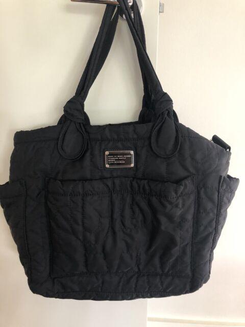 6485fc0fe712 Marc by Marc Jacobs Core Pretty Eliza Diaper Baby Bag Tote Black ...