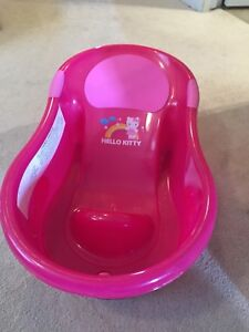 Hello kitty infant tub for sale!
