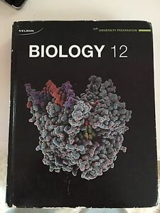 Grade 12 biology textbook by Nelson