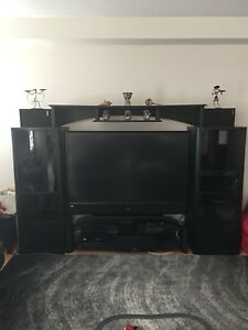 Tv Home Theatre /Stereo Wall unit