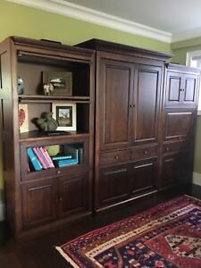 Large Entertainment Wall Unit $500 OBO *Must Go*