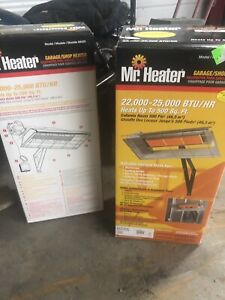 NG or propane heaters
