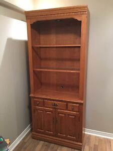 Roxton solid wood entertainment unit or bookcase