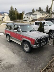1984 Bronco 2 - 2.9l FI - 4WD - 5 Speed