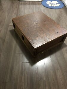 Wooden Crate stained ready to make coffee table with