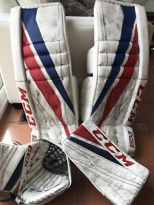 Goalie PRO Pads CCM 34 +2 and Limited edition Glove and Blocker