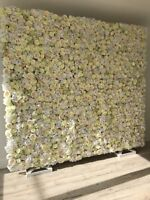 Flower Wall, florals, weddings, bridal showers, photo booth