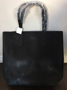 Brand new black tote from holt renfrew