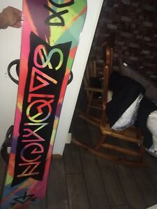 Snowboard & gear, mint shape
