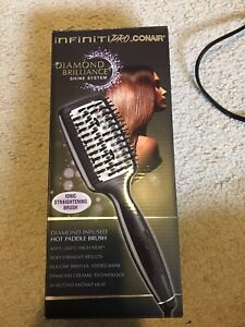 Straightener - ionic straightening brush