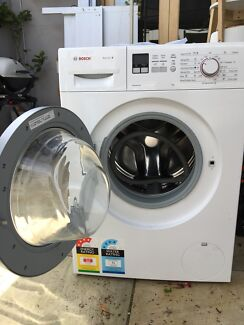 Washing machine in fitzroy north 3068 vic washing machines bosch frontloader serie 4 6 months old fandeluxe Gallery
